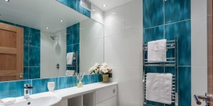 The bathroom setup and installation. Bath and shower setup, heating, plumbing, tiling, glass and furniture installs, painting, decoration and finish.