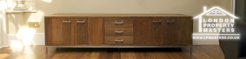 Individual furniture projects - design, manufacture, installation