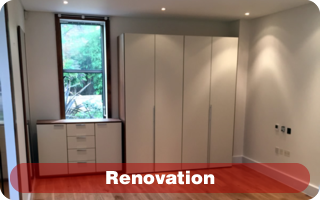 Interior design and renovation contractor in London