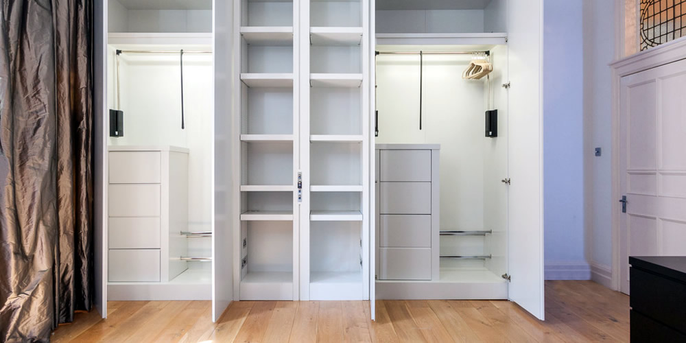 London Property Masters - Interior design and decoration - Custom wardrobes