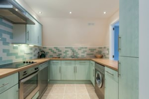 Kitchen wall and floor tiling services in London